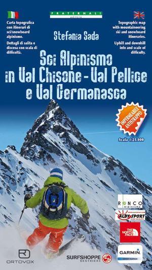 97 Sci Alpinismo In Val Chisone 1:25.000