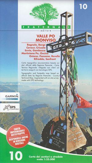 10 Valle Po Monviso 1:25.000