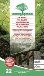 22 Mondovi Val Ellero Val Maudagna 1:25.000