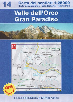 14 Valle Dell' Orco 1:25.000