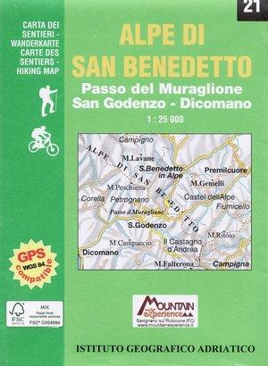 Iga21 Alpi Di San Benedetto 1:25.000