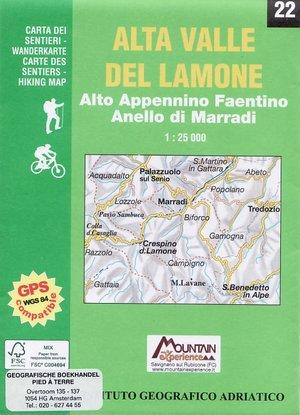 22 Alta Valle Del Lamone 1:25.000