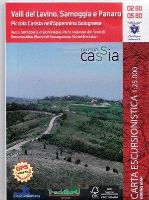 02/05 Bo Valli Lavino, Samoggia 1:25.000
