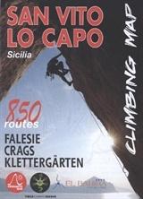 San Vito Lo Capo Climbing Map Sicily