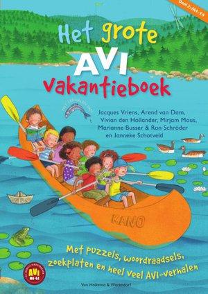 Het grote AVI vakantieboek - 2