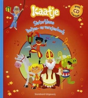 Kaatje Sinterklaas liedjes-en versjesboek + CD