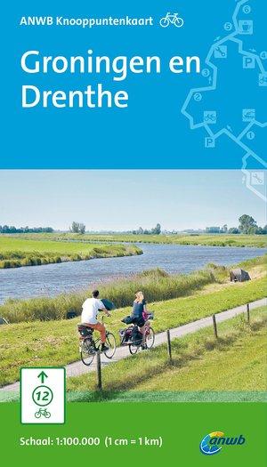 ANWB knooppuntenkaart fiets Groningen en Drenthe