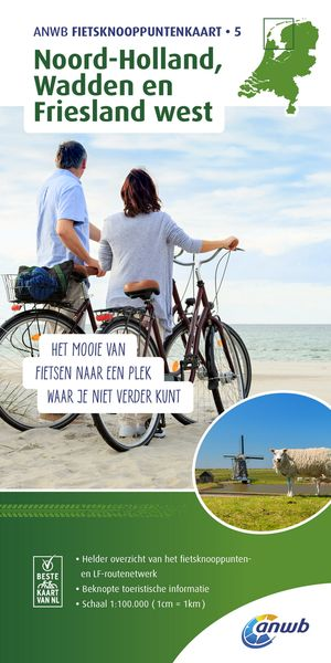 Noord-Holland, Wadden en Friesland west 1:100.000