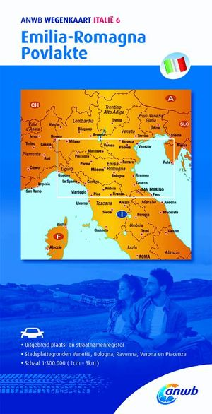 Italië 6. Emilia-Romagna,Povlakte