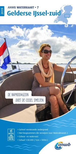 Waterkaart 7 Gelderse IJssel-zuid 2019