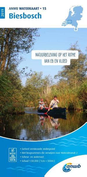 Waterkaart 15 Biesbosch 2019