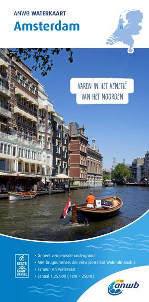 Waterkaart Amsterdam 2019
