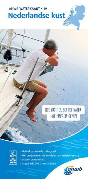 Waterkaart 19. Nederlandse Kust