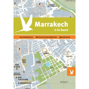 Marrakech in kaart