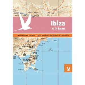 Ibiza in kaart