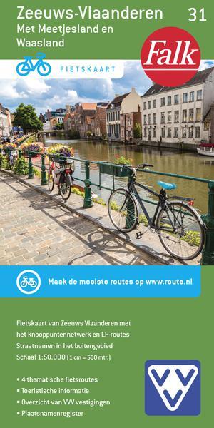 Falk VVV fietskaart 31 Zeeuws-Vlaanderen