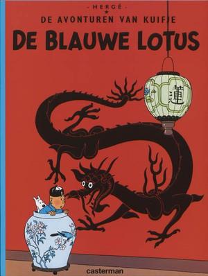 Kuifje 04 Blauwe Lotus