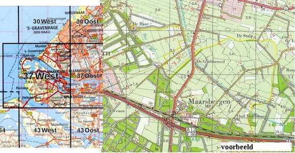 Rotterdam 37 West 1:50.000 Tdn