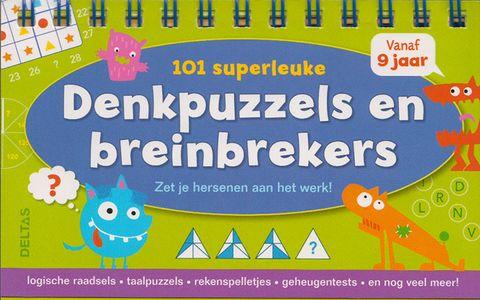 101 Superleuke Denkpuzzels