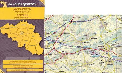 Antwerpen Provincie 1:100d De Rouck Nr.90