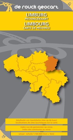 Limburg Provinciekaart 1:100d Drgc 94