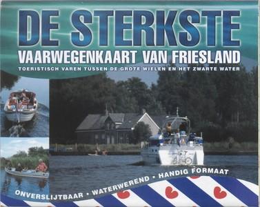 De sterkste vaarwegenkaart Friesland