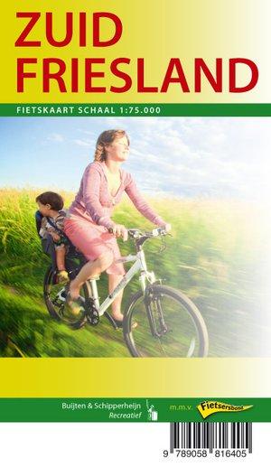 Friesland Zuid fietskaart regio