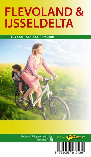 Flevoland / IJsseldelta fietskaart regio