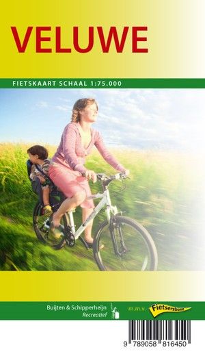Veluwe fietskaart regio