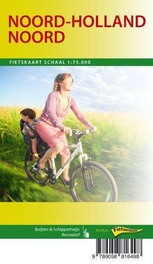 Noord-Holland Noord fietskaart regio