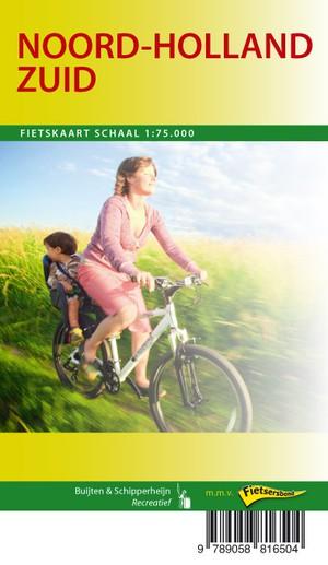 Noord-Holland Zuid fietskaart regio