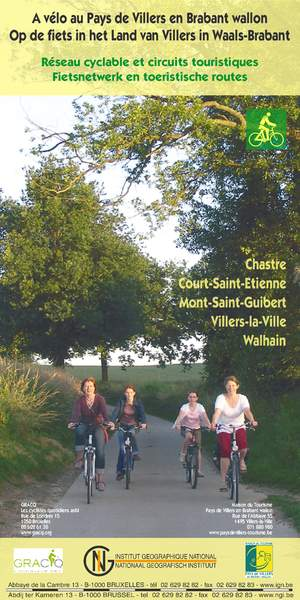 Villers-la-Ville fietskaart
