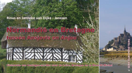 Normandië en Bretagne fietsroute tussen Ansjovis en Anjou