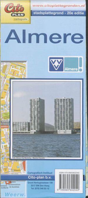 Stadsplattegrond Almere