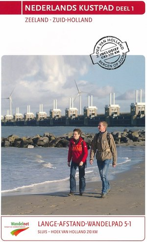 Lange-afstand-wandelpad 5 - Nederlands kustpad deel 1 Zeeland Zuid-Holland