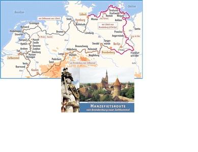 Hanzefietsroute 3 van Brandenburg naar Zaltbommel