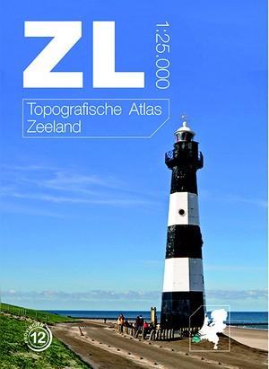 Gebonden Topografische Atlas Zeeland 1:25.000