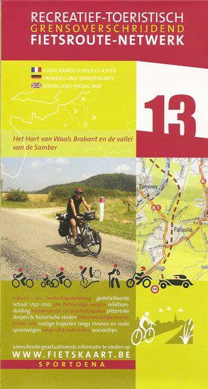 Biking And Hiking Map