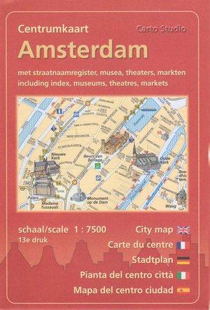 Centrumkaart Amsterdam 1:7,500 Cartostudio