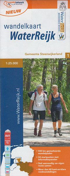 Wandelkaart Waterreijk 1:25.000