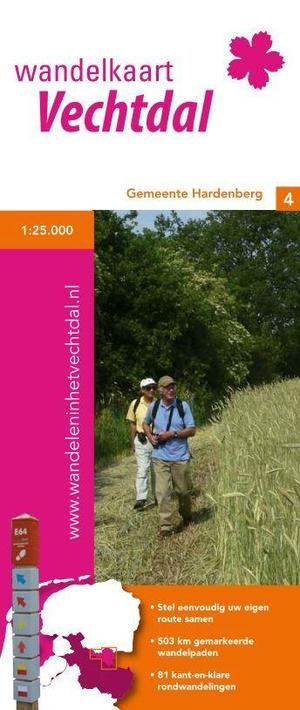 Wandelnetwerk Vechtdal Hardenberg 1:25.000