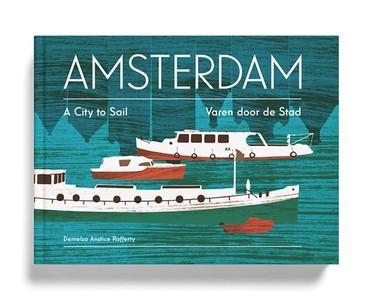 Amsterdam Varen Door De Stad Prentenboek