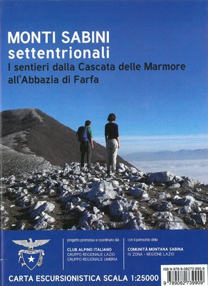 Monti Sabini Settentrionali: I sentieri dalla Cascata delle Marmore all'Abbazia di Farfa