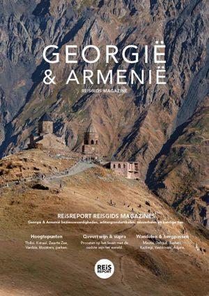 Georgië en Armenië reisgids magazine