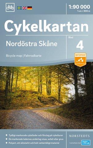 Skane Noordoost fietskaart
