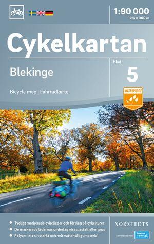 Blekinge fietskaart