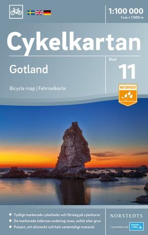 Gotland fietskaart