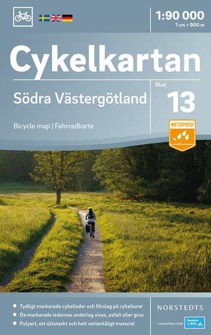 Västergotland Zuid fietskaart