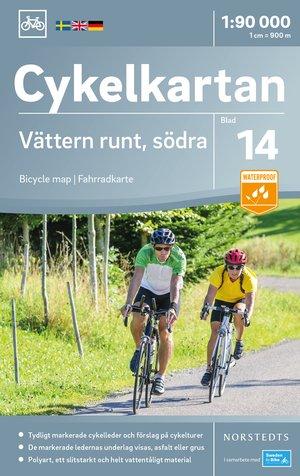 Vättermeer Zuid fietskaart