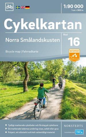 Smalandkust Noord fietskaart